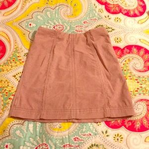 Free people corduroy skirt